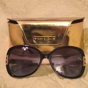 Tory Burch TY022 Sunglasses in navy/cream